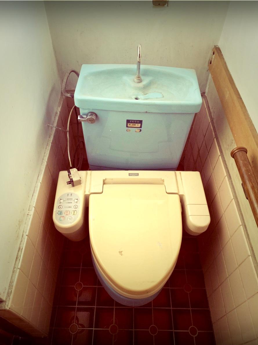 HP用 トイレ現況