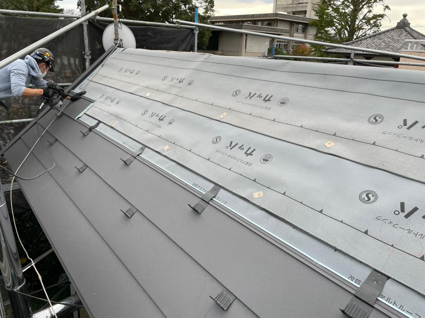 S様邸屋根工事