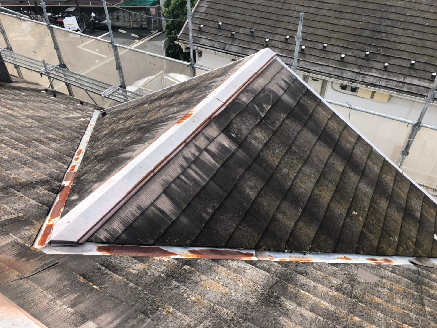 Pアパート屋根工事